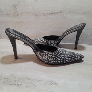 Nine West sparkle rhinestone heels size 9.5